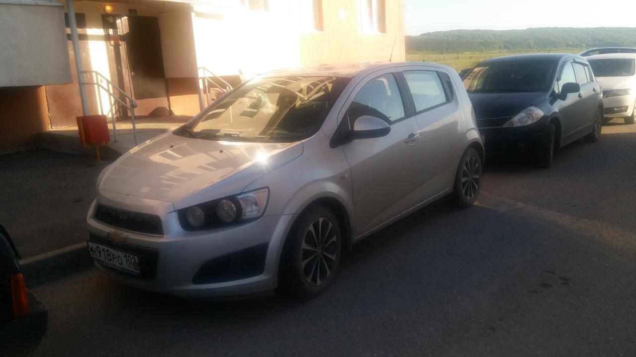 Chevrolet Aveo 2012 г.в. г.Уфа - фото 2