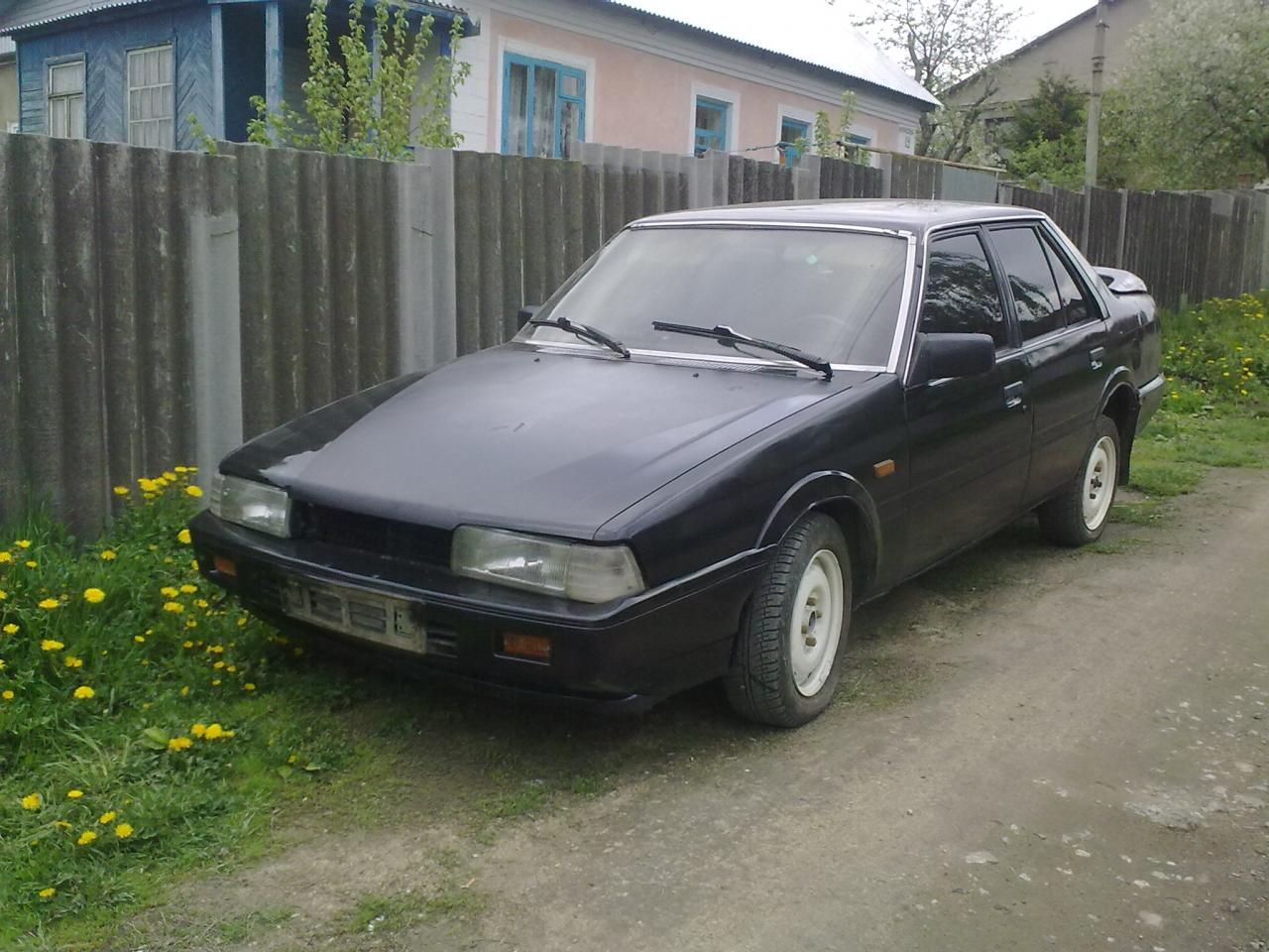 mazda626 1984 года: