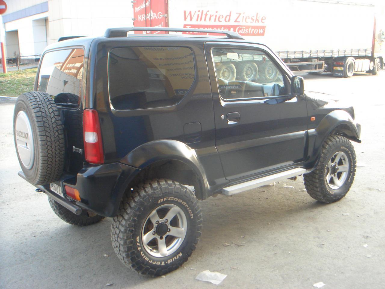 Suzuki jimny своими руками 170