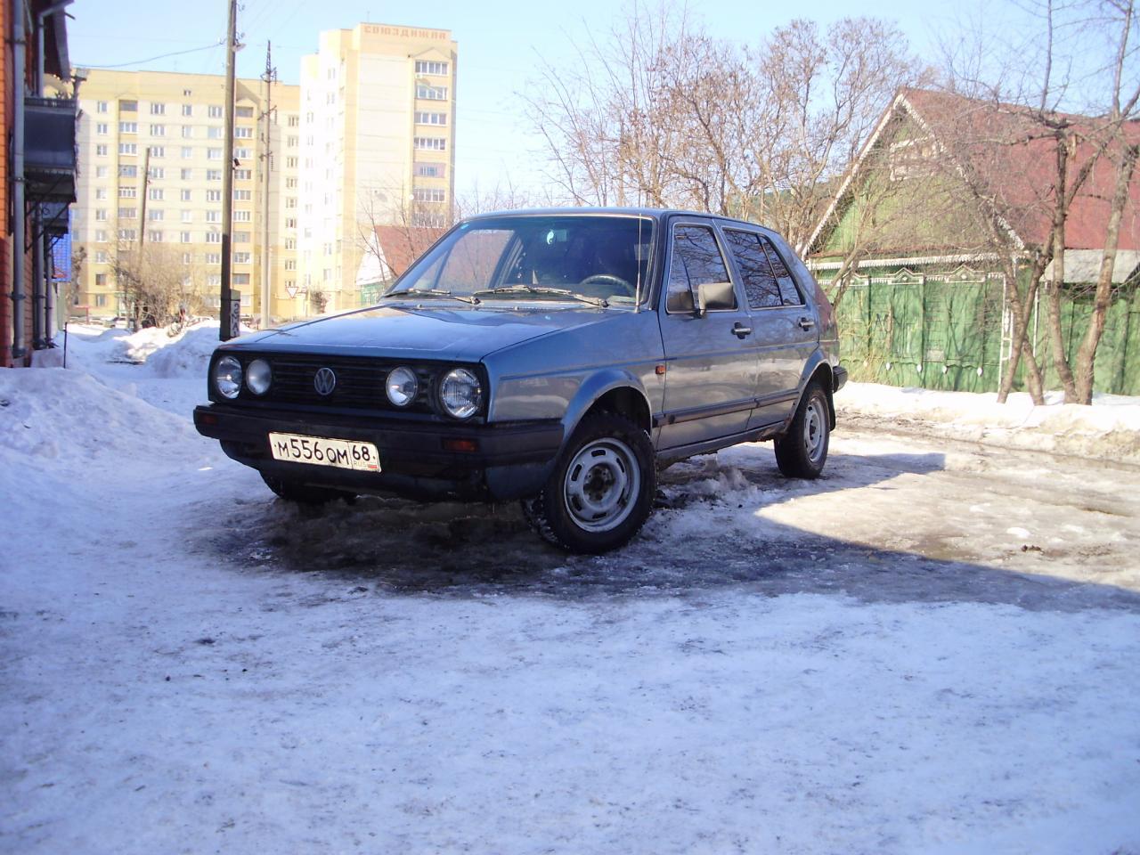 Volkswagen golf 1986 г в г тамбов фото 1