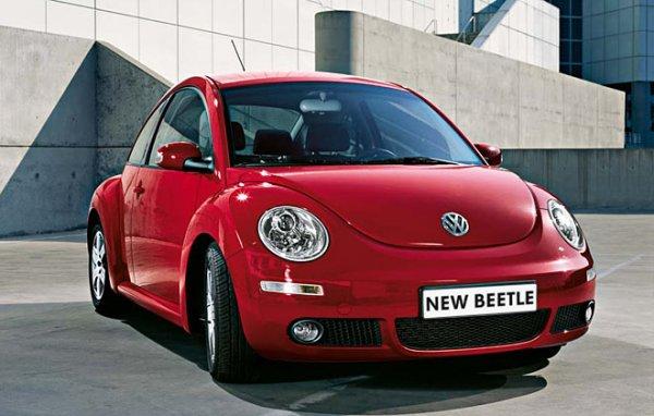 Новая версия Volkswagen Beetle